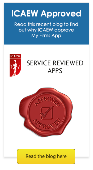 Read this recent blog to find out why ICAEW approve My Firms App